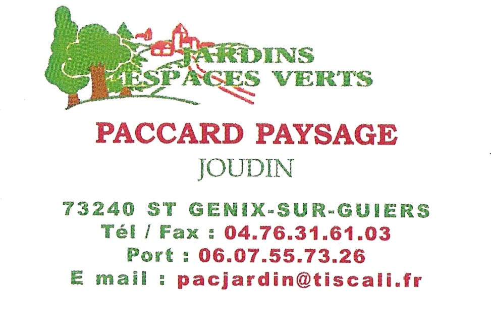 Paccard Paysage